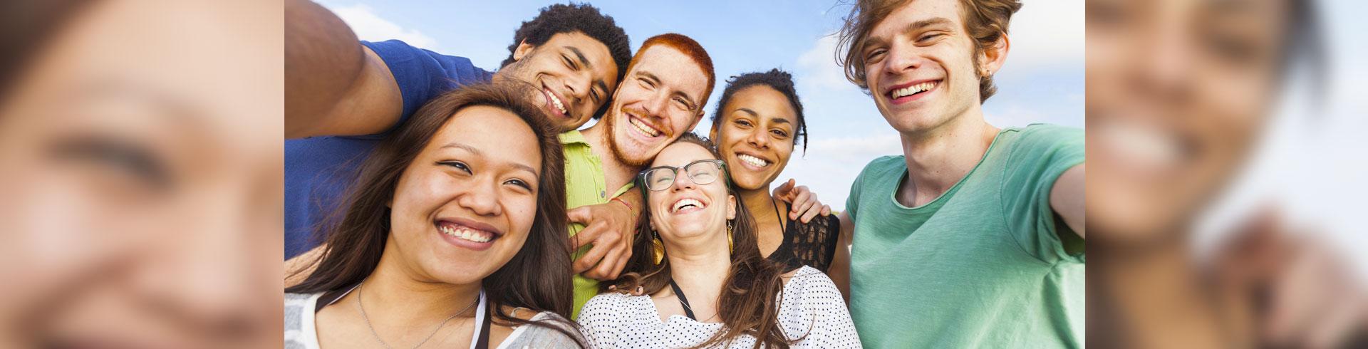 Fun Group Selfie