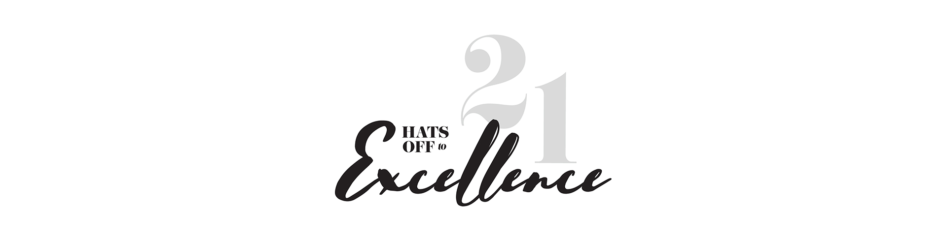 Hats Off to Excellence banner