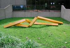 Zig Zag Sculpture