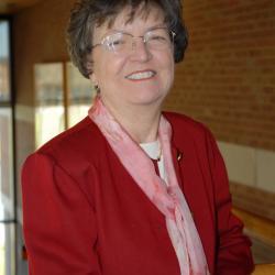 Head Shot Barbara Morgan, alum class of 1967 and retired staff member