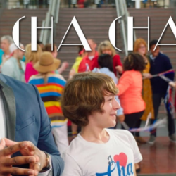 Actors in the short film Cha Cha Land featuring faculty member Dr. Jennifer Arbogast