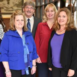 faculty fellows include jennifer arbogast,lisa legg, jimmy jones, jacqueline smith, lindsay holland and libby farrelly