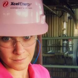 emily peigen on the job at xcelenergy