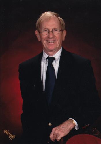 Head shot of Dr. Herb Hooper – longtime faculty member