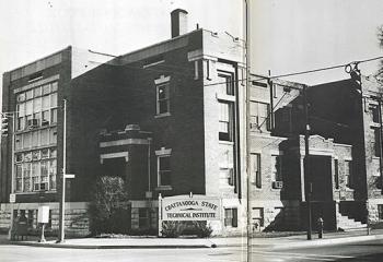 CSTI downtown campus 1965