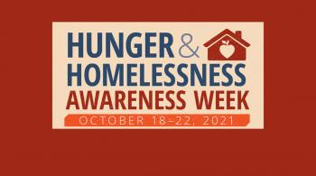 hunger and homelessness awareness words