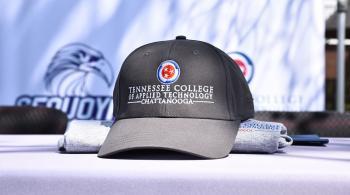 tcat ball cap and t-shirt
