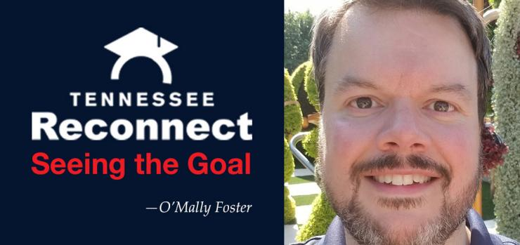 o'mally foster pictured with tn reconnect logo