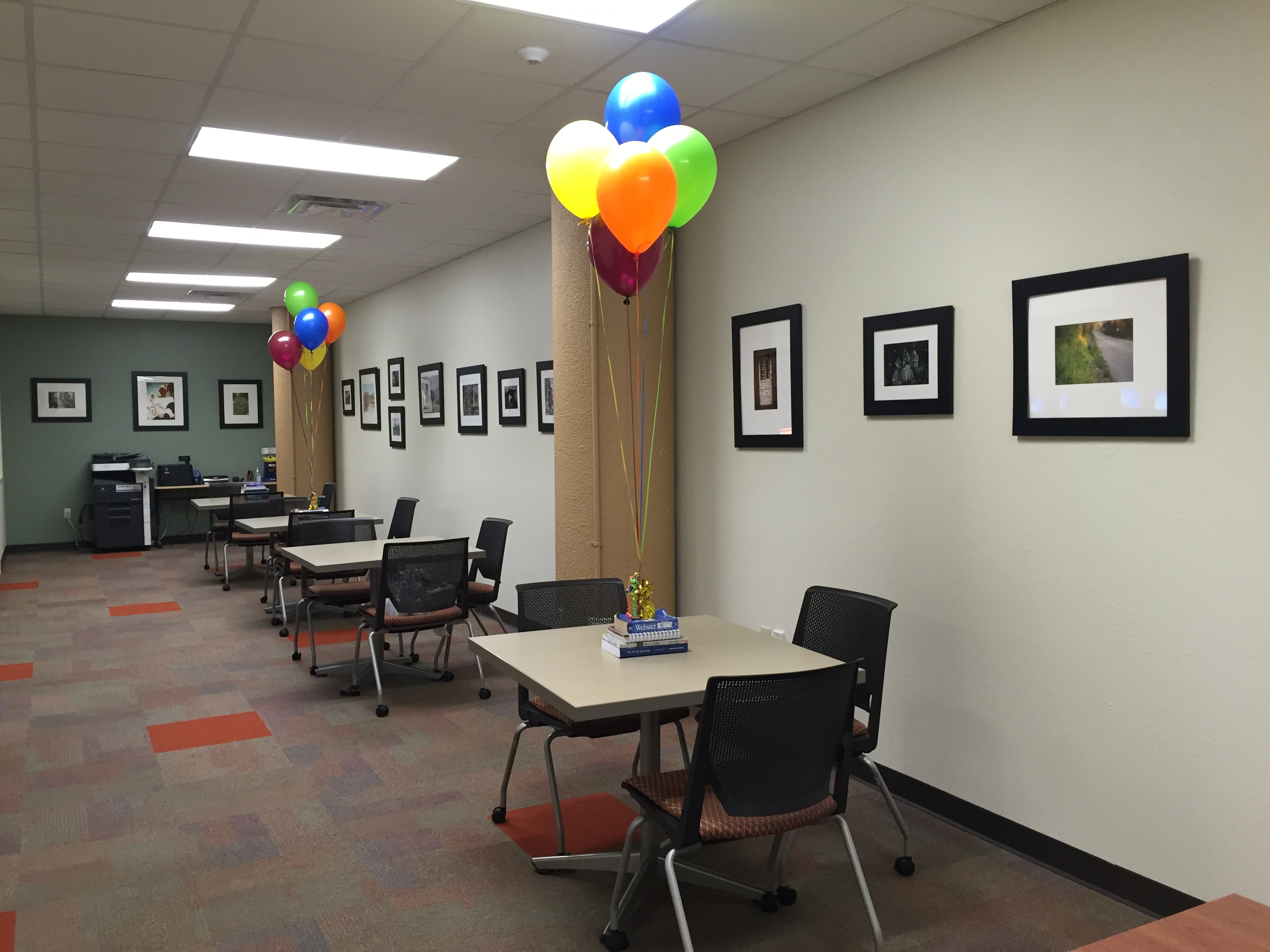 Photo Gallery at the Reading & Writing Center